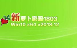 萝卜家园Win10旗舰版