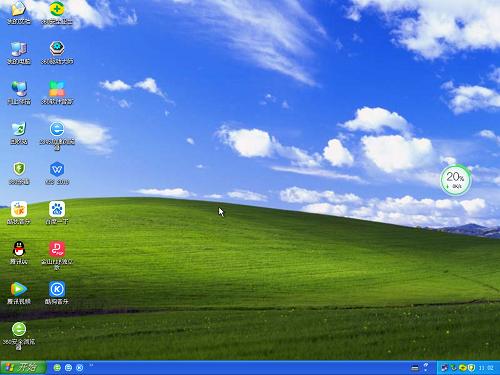 华硕 GHOST XP SP3 笔记本安全版
