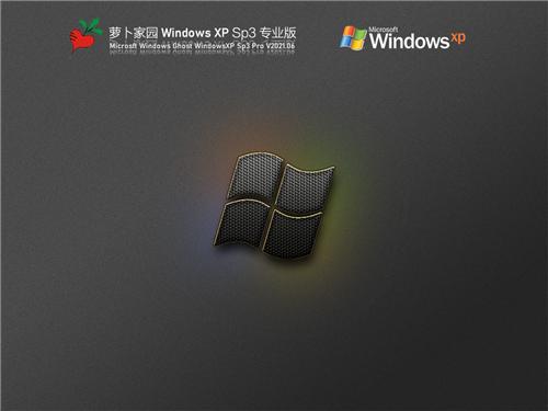 萝卜家园WindowsXP Sp3专业版
